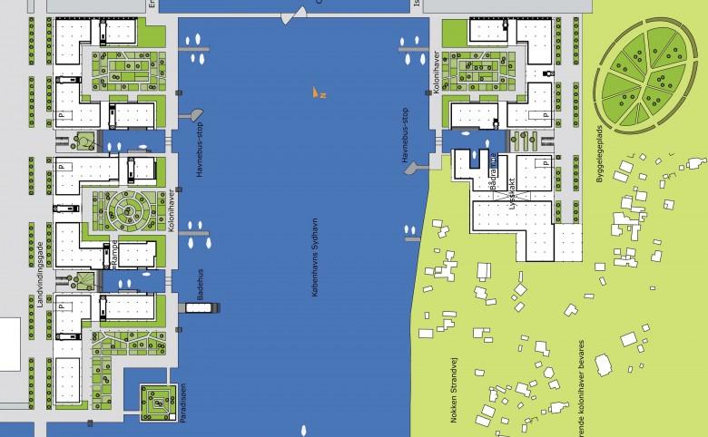 De Hængende Haver langs Københavns havnefront - Arkitekturværkstedet - Hans Peter Hagens - Arkitekt - København