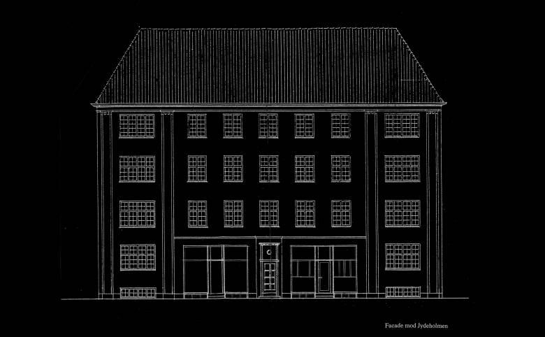 Sandwichbar i Vanløse - Arkitekturværkstedet - Hans Peter Hagens - Arkitekt - København