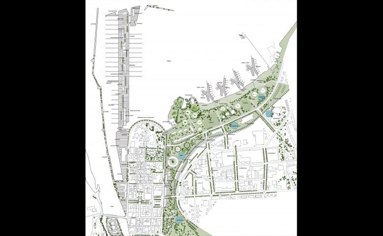 Ny havnefront til Mariestad - Arkitekturværkstedet - Hans Peter Hagens - Arkitekt - København