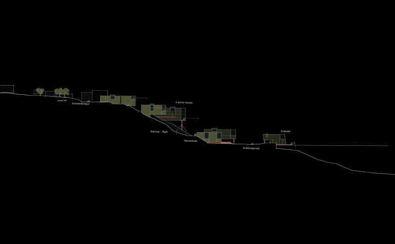 Havnefront i Akureyri - Arkitekturværkstedet - Hans Peter Hagens - Arkitekt - København