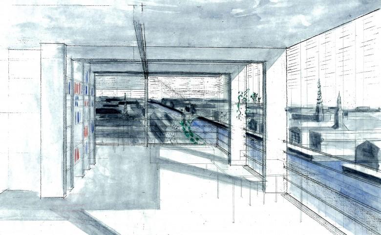 Det Danske Hus for Kunst og Videnskab - Arkitekturværkstedet - Hans Peter Hagens - Arkitekt - København