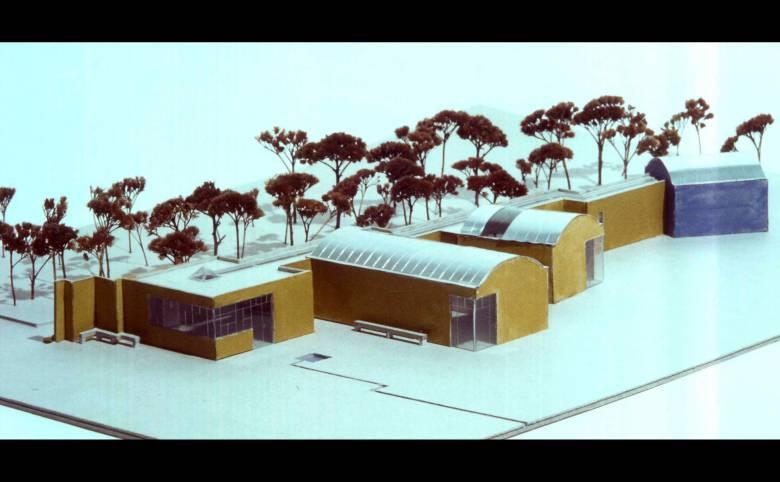 Udstillingsbygning og skulpturpark på Møn - Arkitekturværkstedet - Hans Peter Hagens - Arkitekt - København