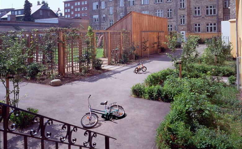 Gårdsanering på Frederiksberg - Arkitekturværkstedet - Hans Peter Hagens - Arkitekt - København