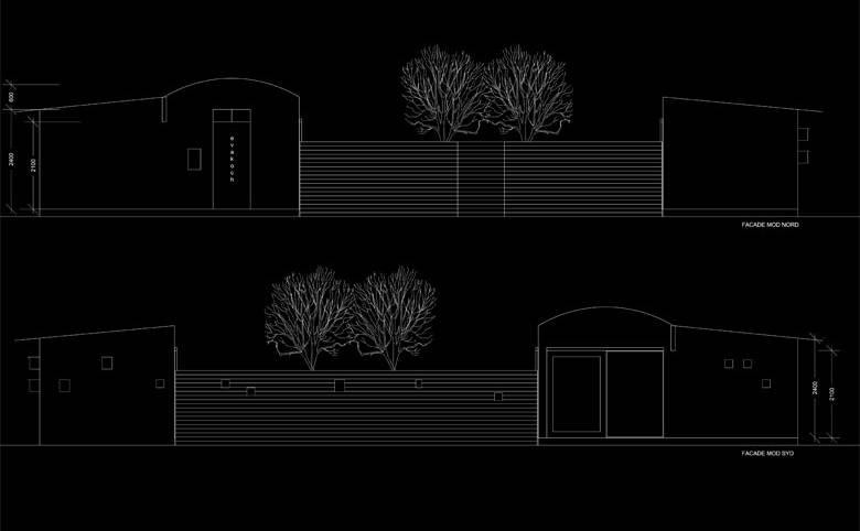 Sommerbolig i Asserbo - Arkitekturværkstedet - Hans Peter Hagens - Arkitekt - København