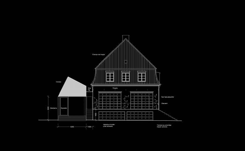 Villa Hübbe - Arkitekturværkstedet - Hans Peter Hagens - Arkitekt - København