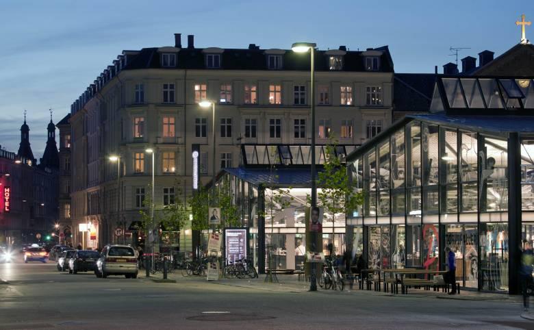 Torvehallerne på Israels Plads i København - Arkitekturværkstedet - Hans Peter Hagens - Arkitekt - København