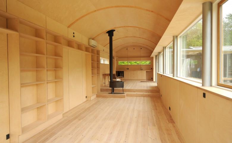 Sommerbolig i Kulhuse - Arkitekturværkstedet - Hans Peter Hagens - Arkitekt - København